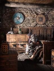 rog medieval fantasy bedroom daz3d