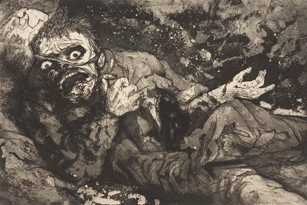 Soldat blessé Otto Dix