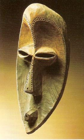 Masque Bobo-Fing etumbi, H - 35.5 cm, Congo, Musée Barbier- Barbier-Muller, Genève