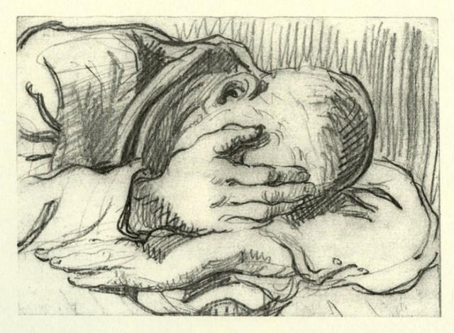 boris-Taslitzky-dessins-guerre-1944-Buchenwald- depression