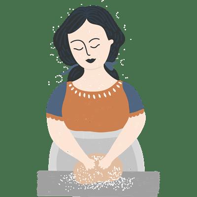 Dessert baking