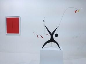 Lucio Fontana et Calder Art | Basel 2013 (Oeuvre : droits réservés aux ayants droits / photo : alain walther)