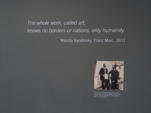 wassily Kandinsky franz marc art basel 2016 alain walther fondation beyeler