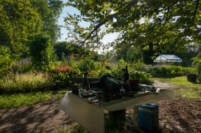 «Garten (Jardin)», 1997/2016, de Peter Fischli et David Weiss, près du parc de la Fondation Beyeler à Riehen / Basel photo : alain walther
