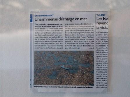 Exposition «Under the water» de Tadashi Kawamata, à voir jusqu'au 15 août 2016 au Centre Pompidou Metz.
