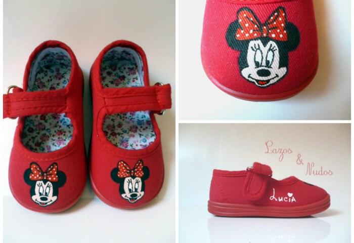 Minnie Mouse Lazos Y Nudos