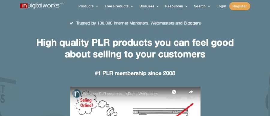 IndigitalWorks-best-plr-membership-site