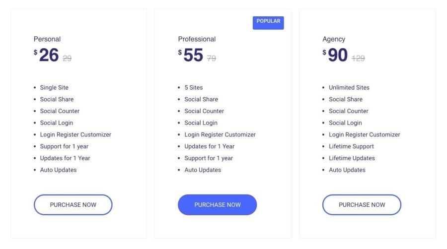 wp-social-pricing