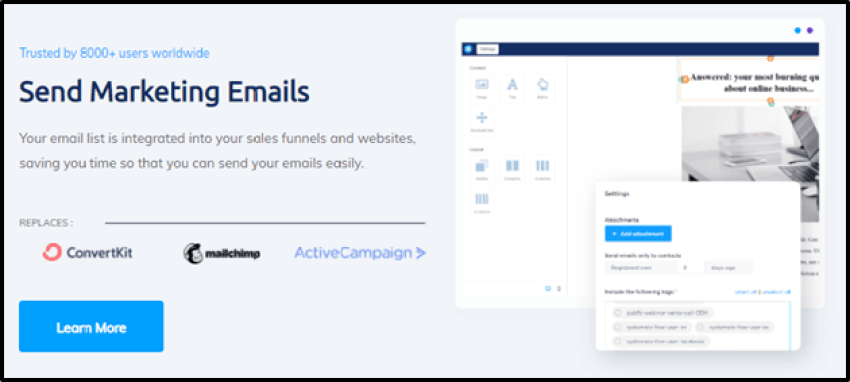 system.io-email-marketing-feature