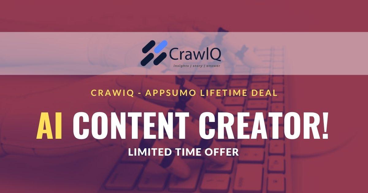 CrawlQ-Appsumo-Lifetime-Deal-image