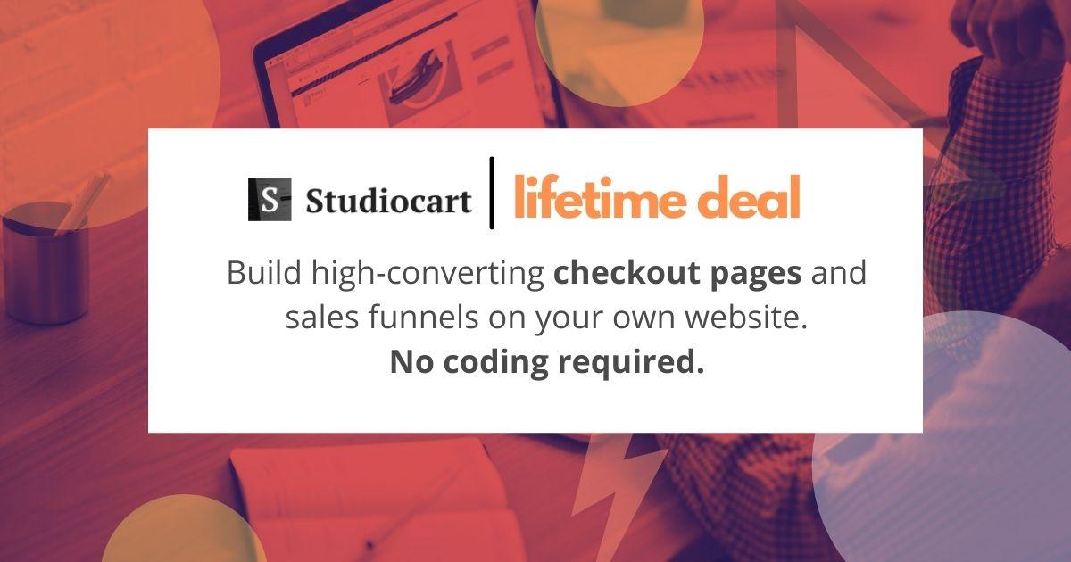studiocart-appsumo-lifetime-deal