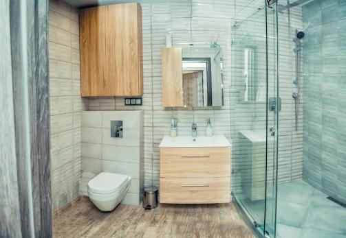 Lazurniy Bereg Holiday Villas And Vacation Rentals Bathroom and Shower