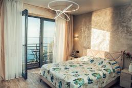 Lazurniy Bereg Holiday Villas And Vacation Rentals Bedroom with Terrace 01