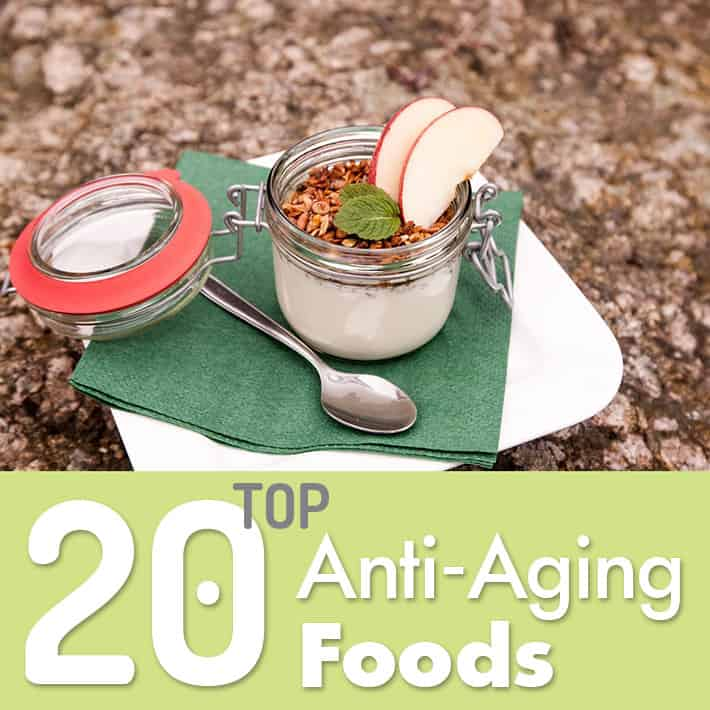 Top 20 Anti-Aging Foods
