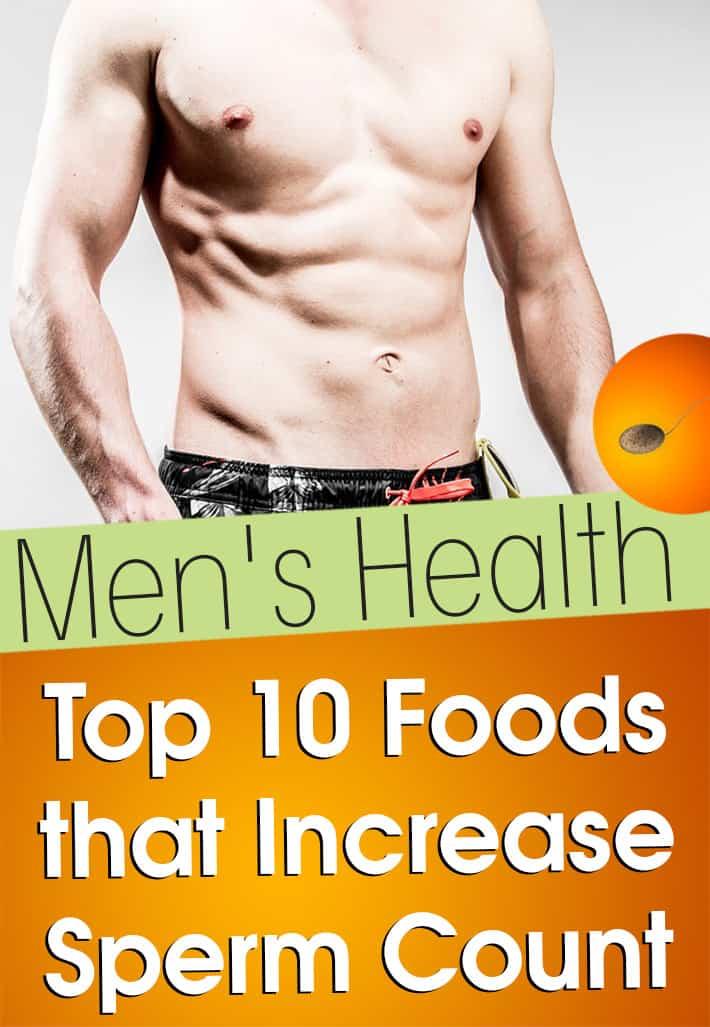 Mens health increase sperm charming