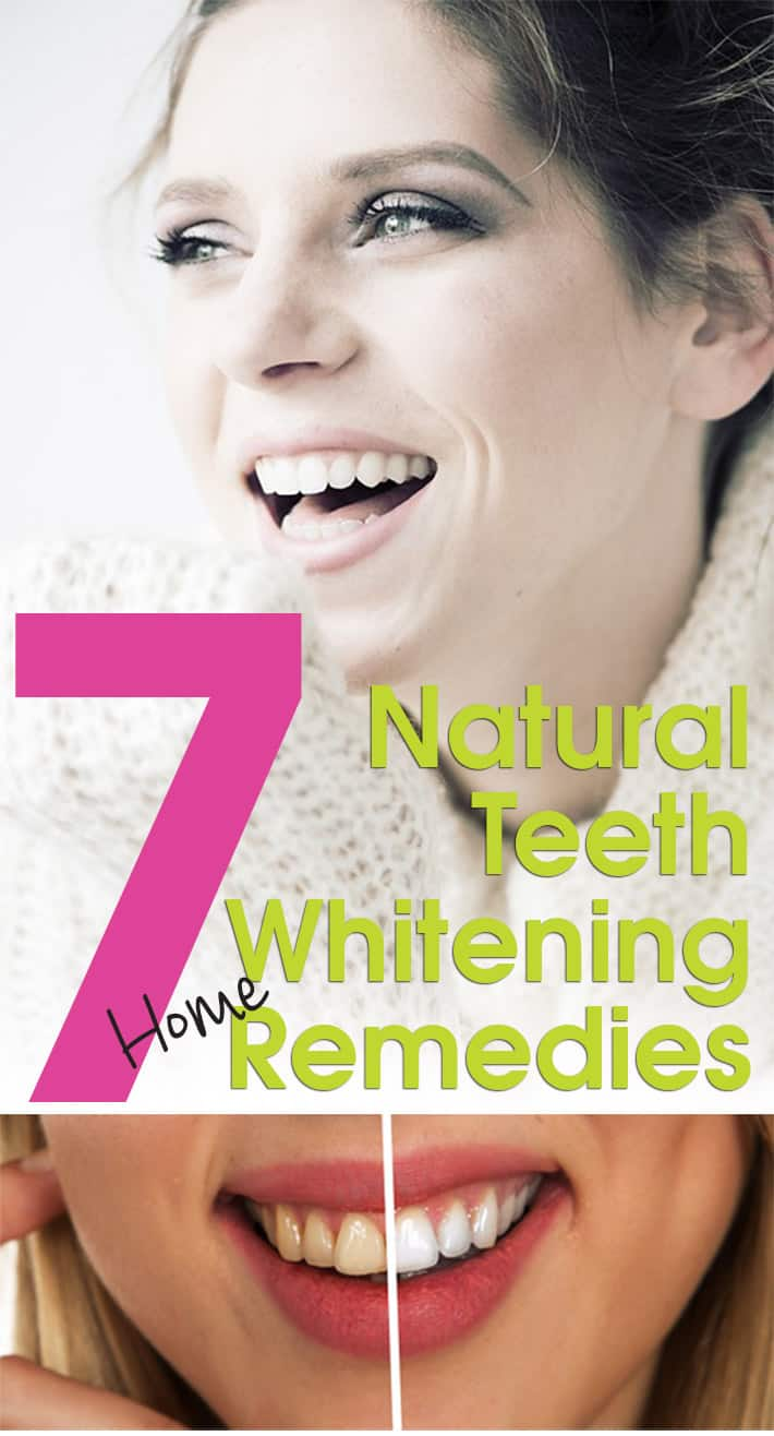 Beautiful Smile: 7 Natural Teeth Whitening Home Remedies