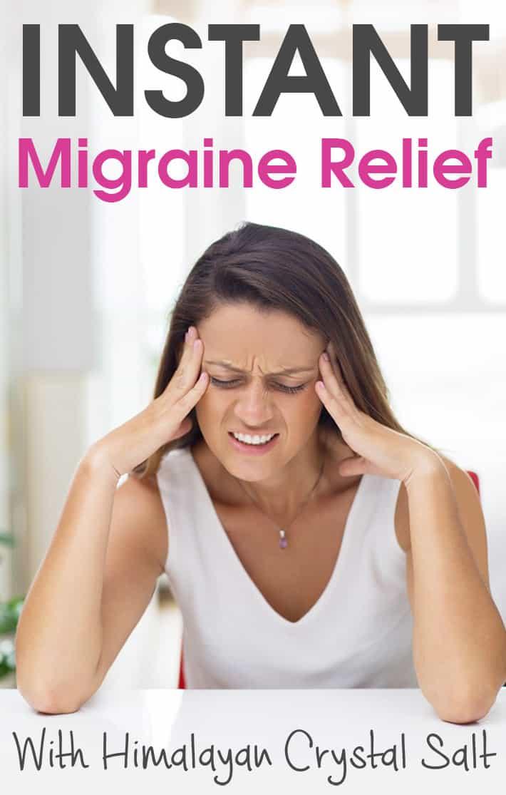 Instant Migraine Relief With Himalayan Crystal Salt