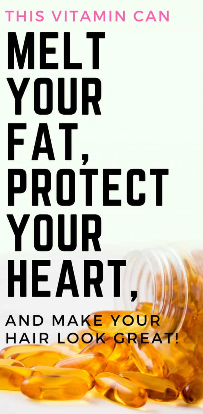 This Vitamin Can Melt Your Fat, Protect Your Heart, and Make Your Hair Look Great!