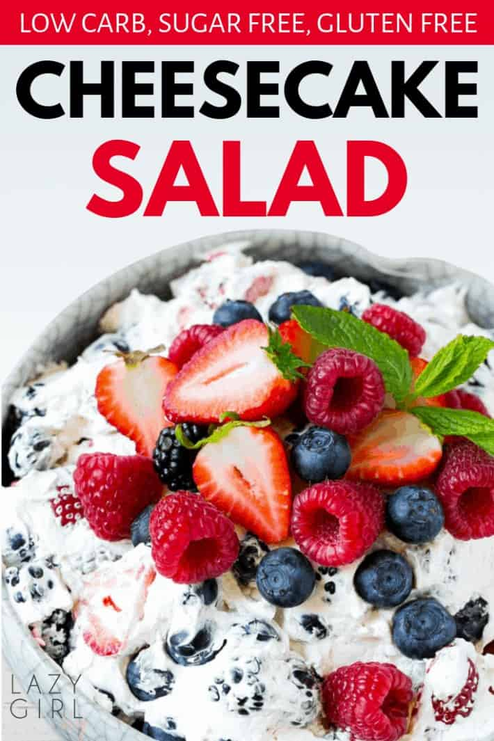 Low Carb Cheesecake Salad