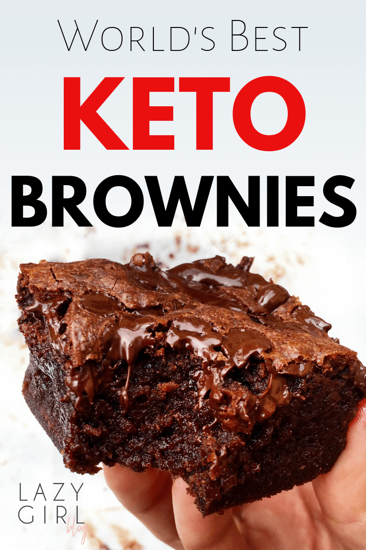Worlds best keto brownies