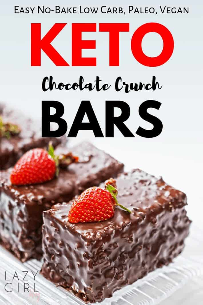 Low Carb Keto Chocolate Bars