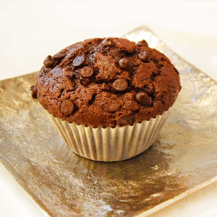 Easy Keto Chocolate Muffins