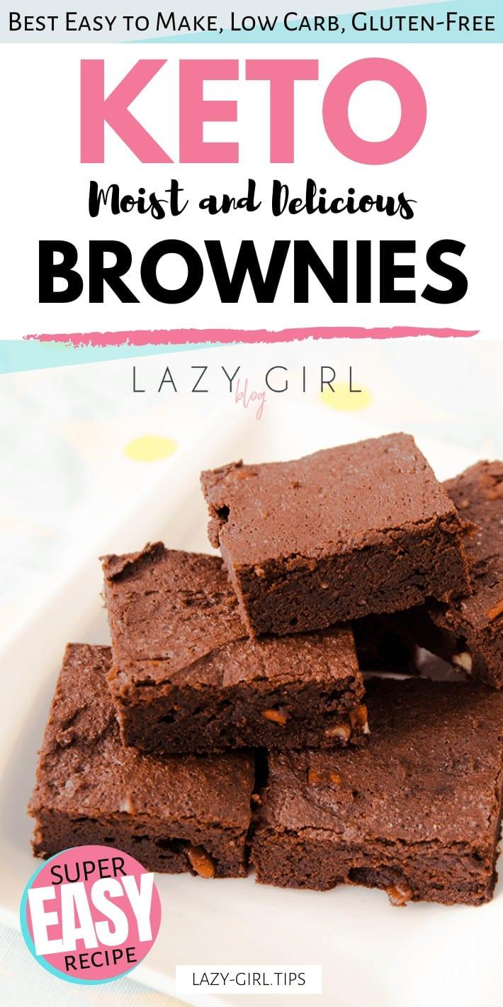 Easy Low Carb Keto Brownies
