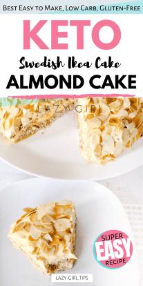 Keto Almond Cake.