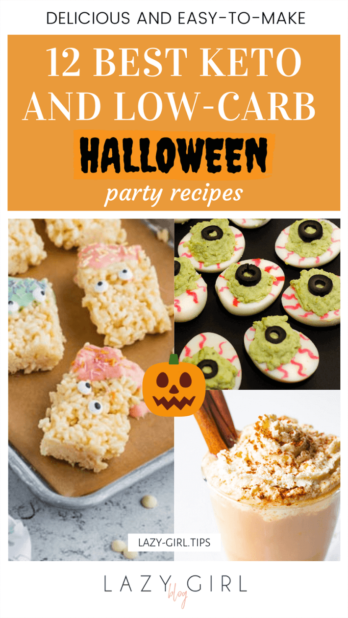12 Best Keto and Low-carb Halloween Recipes.