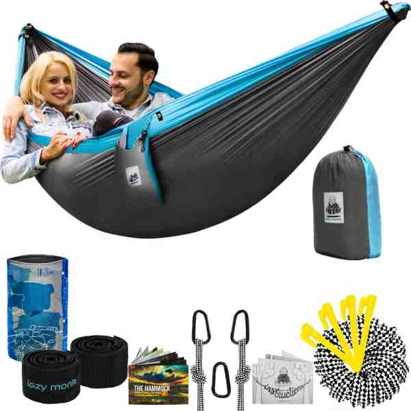 4in1 Double Camping Hammock With Straps