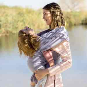Baby Sling Wrap Use 4