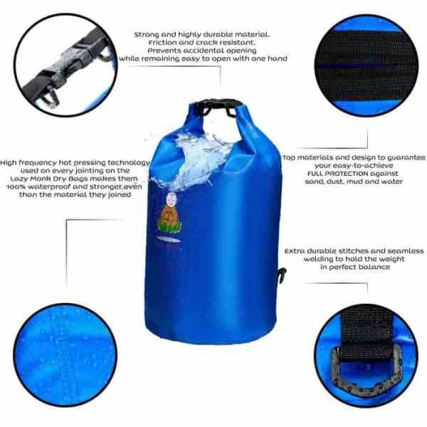 Dry Bag Waterproof Bags Large Food Backpack Sack Features