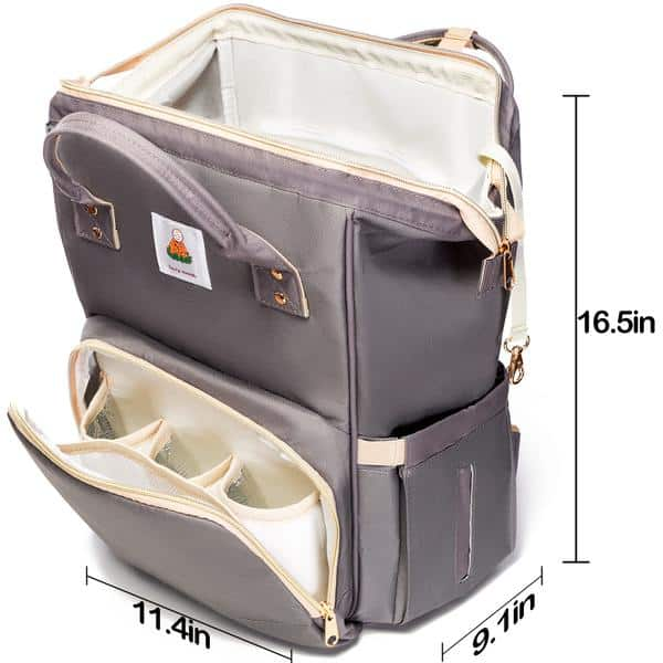 Lazy Monk Diaper Backpack Specifications