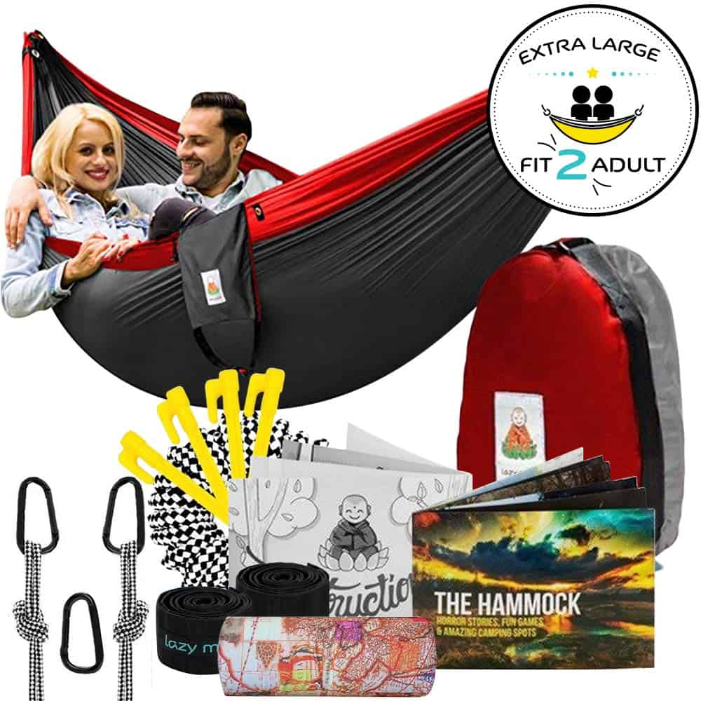double camping hammock for 2 persons