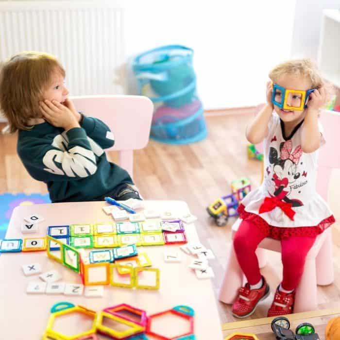 Magnetic Blocks Building Tiles Set For Kids Models