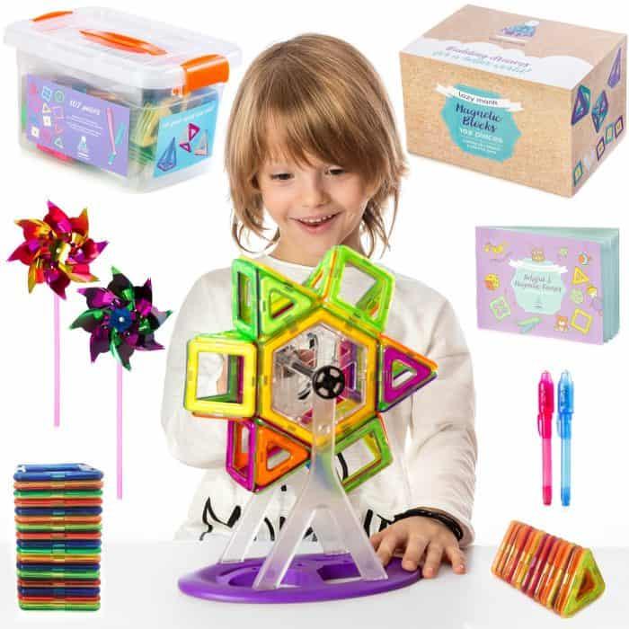 magnetic blocks for toddlers educational fun