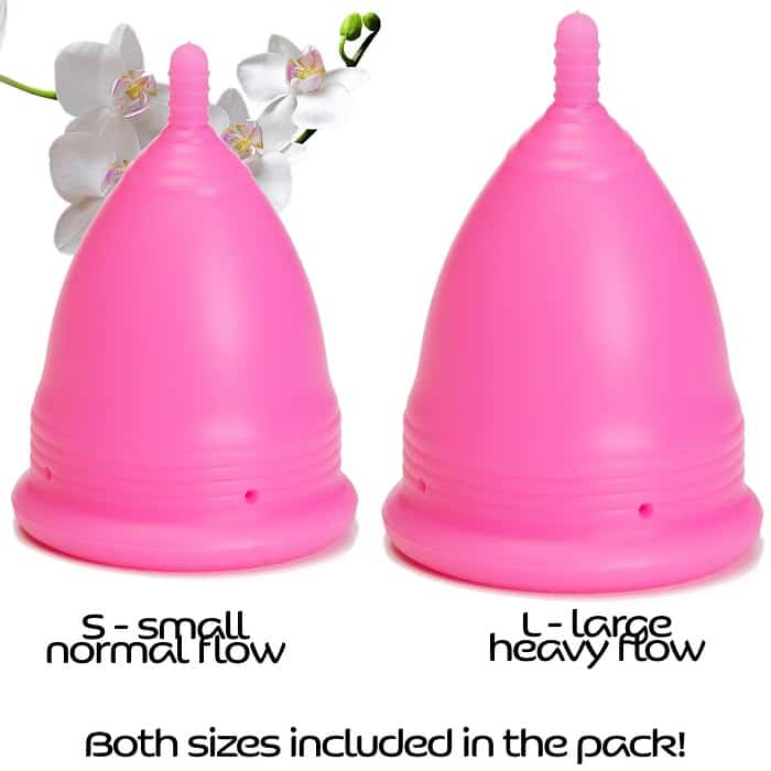 Menstrual Cups Set Sizes