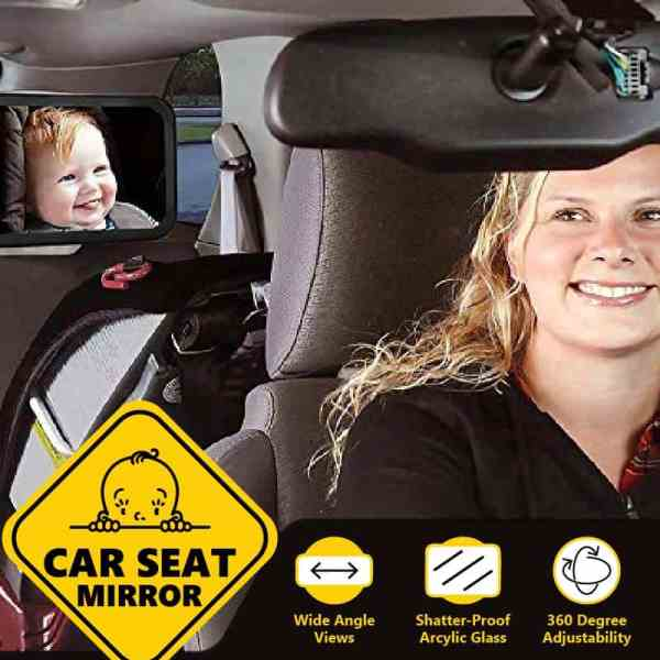Baby Car Seat Mirror Rear