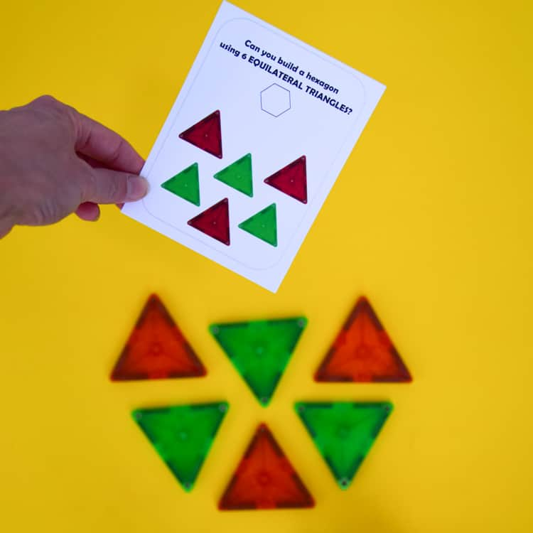 magnetic blocks with shapes