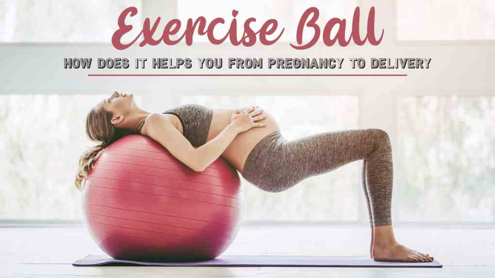 Exercise Ball: How does it Helps You from Pregnancy to Delivery