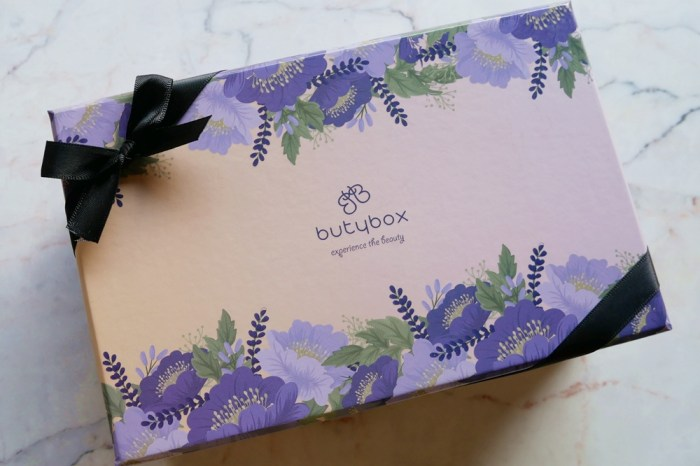 butybox體驗盒開箱   每個月給自己的一個小驚喜