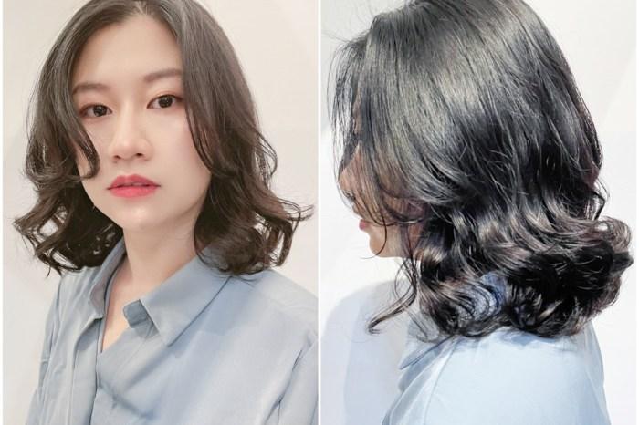 高雄燙髮推薦 | 好毛髮型沙龍-氣質雲朵燙,中長髮韓系燙髮(新崛江髮廊)