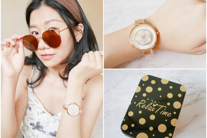 2021女錶推薦 | 日本爆紅設計錶款RELAX TIME RT-72綻放櫻系列