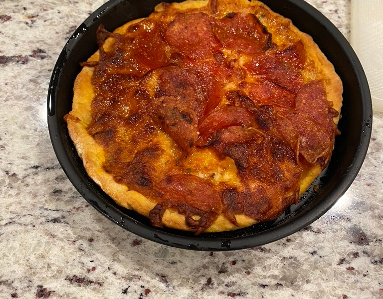 Air Fryer Individual Pizza