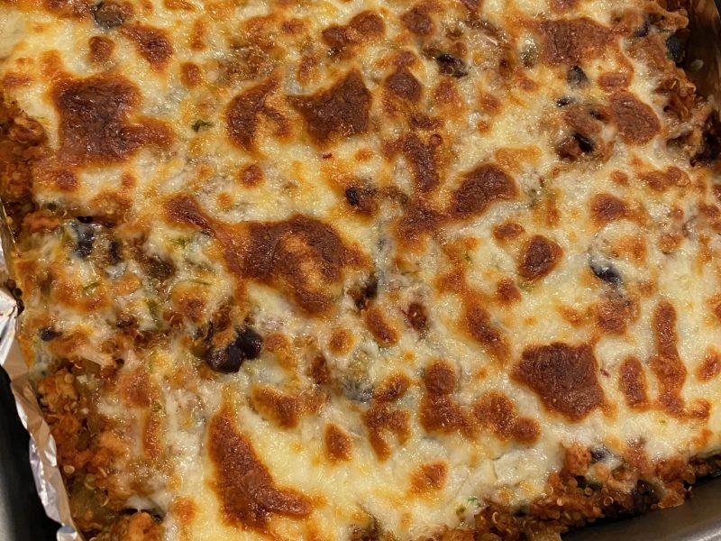 Enchilada Quinoa Bake