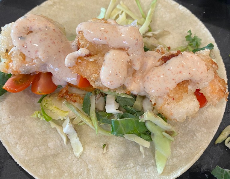 Crispy Chipotle Shrimp Tacos