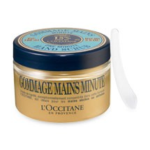 Gommage mains minute - exfoliante manos minute l'Occitane