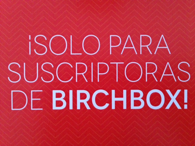 birchbox julio-sorpresas
