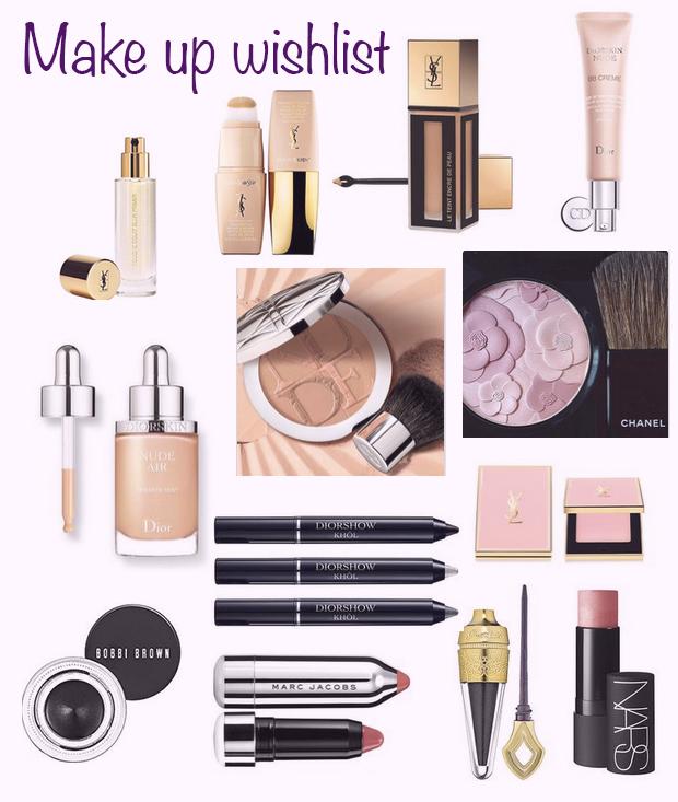 make-up wishlist