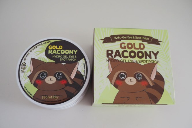 Gold racoony